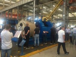 公司生产的首套7000m直驱绞车 得到用户高度评价