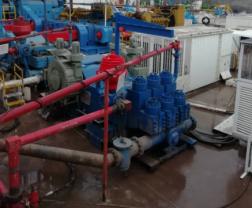 公司直驱泵产品首次在中石化 用户现场顺利投入使用