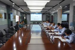 中国石油咨询中心专家来我公司调研指导工作